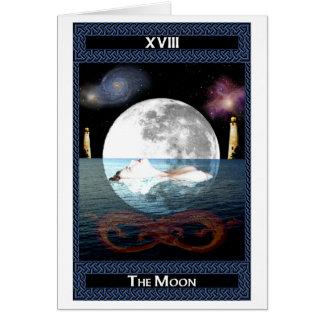 The Moon Tarot Card Art