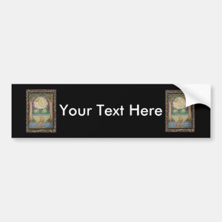 The Moon Tarot Card Bumper Sticker