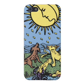 """The Moon"" Tarot Card iPhone4 Case"