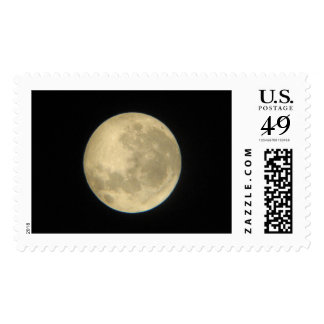 The Moon through a telescope 2006 Postage Stamps