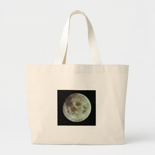 The Moon Tote Bags