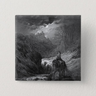 The Moonlight Ride Pinback Button