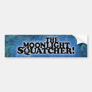 The Moonlight Squatcher - Multiple Products Bumper Stickers