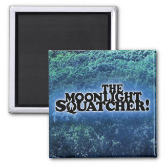 The Moonlight Squatcher - Multiple Products Refrigerator Magnets