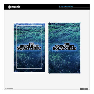 The Moonlight Squatcher - Multiple Products Kindle Fire Decals