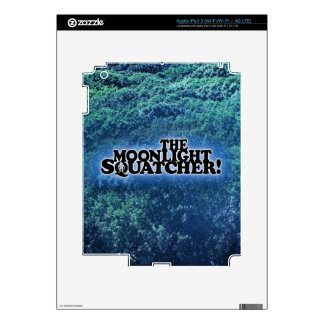 The Moonlight Squatcher - Multiple Products iPad 3 Decals
