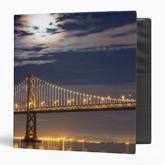 The moonrise tonight over the Bay Bridge Binder