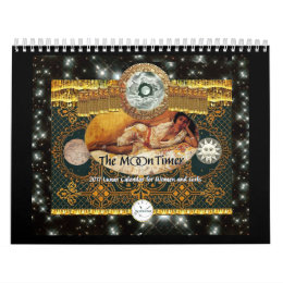 The MoonTimer 2017 Lunar Calendar