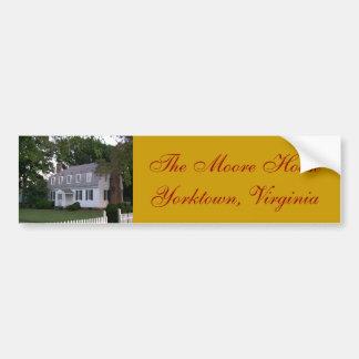 The Moore House - Yorktown, VA Bumper Sticker