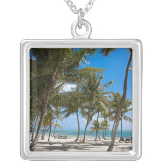 The Moorings Resort, Marathon, Key West, 2 Silver Plated Necklace