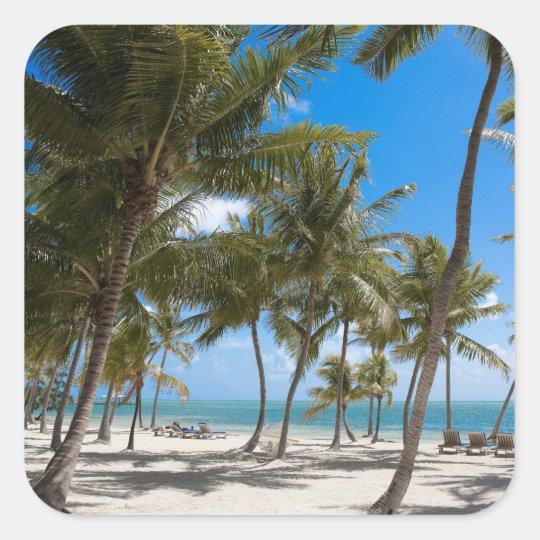 The Moorings Resort, Marathon, Key West, 2 Square Sticker