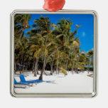 The Moorings Resort, Marathon, Key West, 3 Metal Ornament