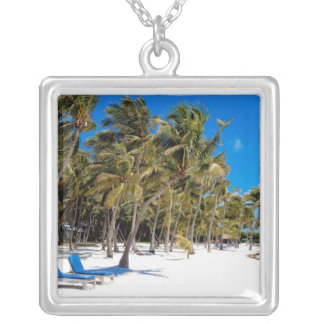 The Moorings Resort, Marathon, Key West, 3 Silver Plated Necklace