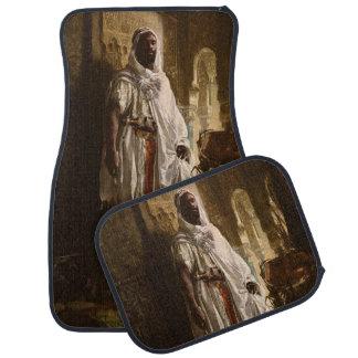 The Moorish Chief African Art Car Mat