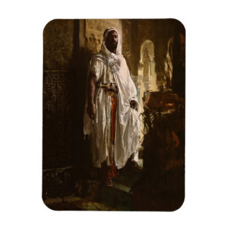 The Moorish Chief African Art Magnet