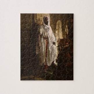 The Moorish Chief African Art Jigsaw Puzzles