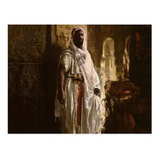 The Moorish Chief African Portrait Postcard
