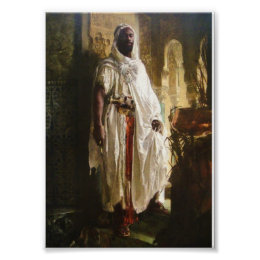 The Moorish Chief by Eduard Charlemont Poster