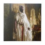 "The Moorish Chief Ceramic Tile<br><div class=""desc"">The Moorish Chief by Eduard Charlemont</div>"