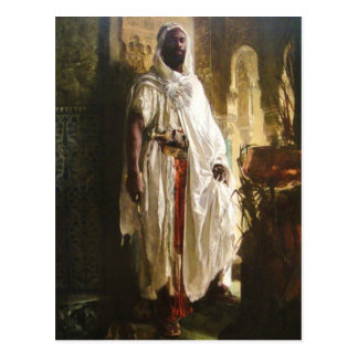 The Moorish Chief Postcard
