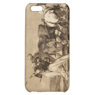 The moors fighting the bull with lances José Goy iPhone 5C Case