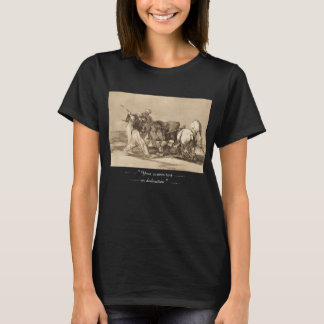 The moors fighting the bull with lances José Goy T-Shirt