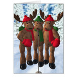 The Moose Brothers: Christmas Carol Card