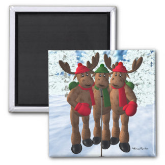 The Moose Brothers: Christmas Carol Magnet