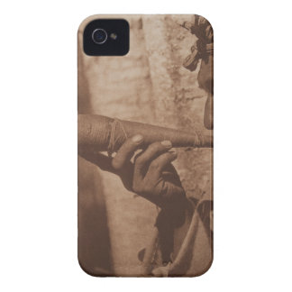 The Moose Hunter - Cree. 1926 iPhone 4 Case