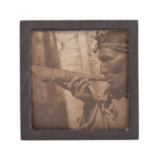 The Moose Hunter - Cree. 1926 Keepsake Box
