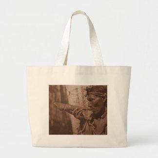 The Moose Hunter - Cree. 1926 Large Tote Bag