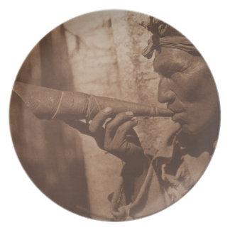 The Moose Hunter - Cree. 1926 Plate