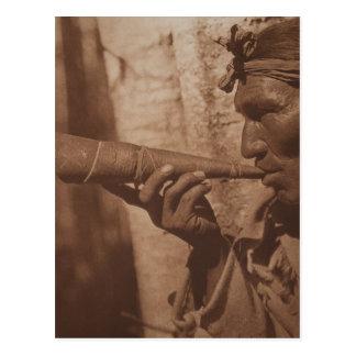 The Moose Hunter - Cree. 1926 Postcard