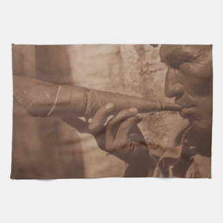 The Moose Hunter - Cree. 1926 Towel