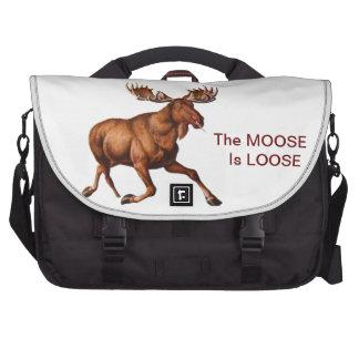 THE MOOSE IS LOOSE LAPTOP BAGS