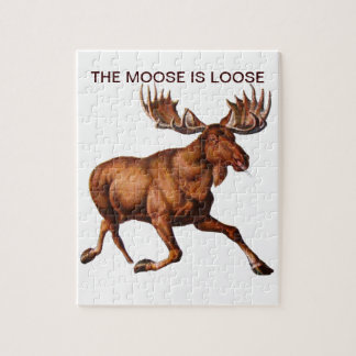 THE MOOSE IS LOOSE PUZZLES