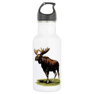 THE MOOSE REALM STAINLESS STEEL WATER BOTTLE
