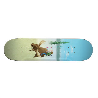 The Moose Riders, Page 1 Skate Board