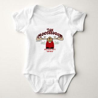 The Moosenger Baby Bodysuit