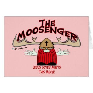 The Moosenger Card
