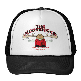 The Moosenger Trucker Hat