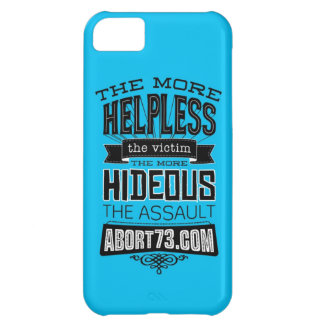 The More Helpless the Victim... | Abort73.com iPhone 5C Cover