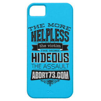 The More Helpless the Victim... | Abort73.com iPhone SE/5/5s Case