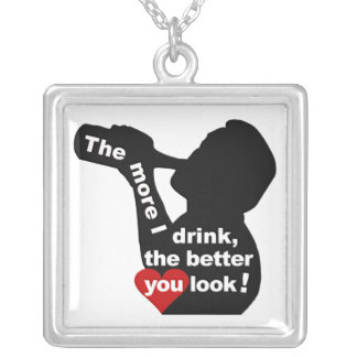 The More I Drink necklace