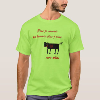 The More I Know Men .... Shirt