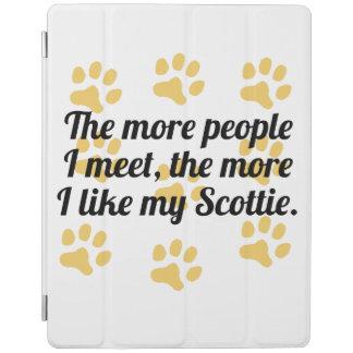 The More I Like My Scottie iPad Cover