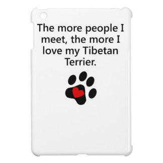The More I Love My Tibetan Terrier iPad Mini Cases