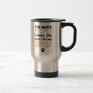 The More People I Meet ... Travel Mug
