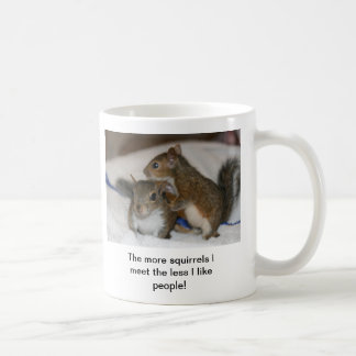 The more squirrels Less people mug