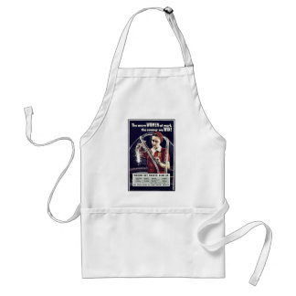 The More Women At Work The Sooner We Win Adult Apron